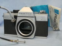 * 42mm * Praktica LTL SLR Camera + Inst + Remote £6.99